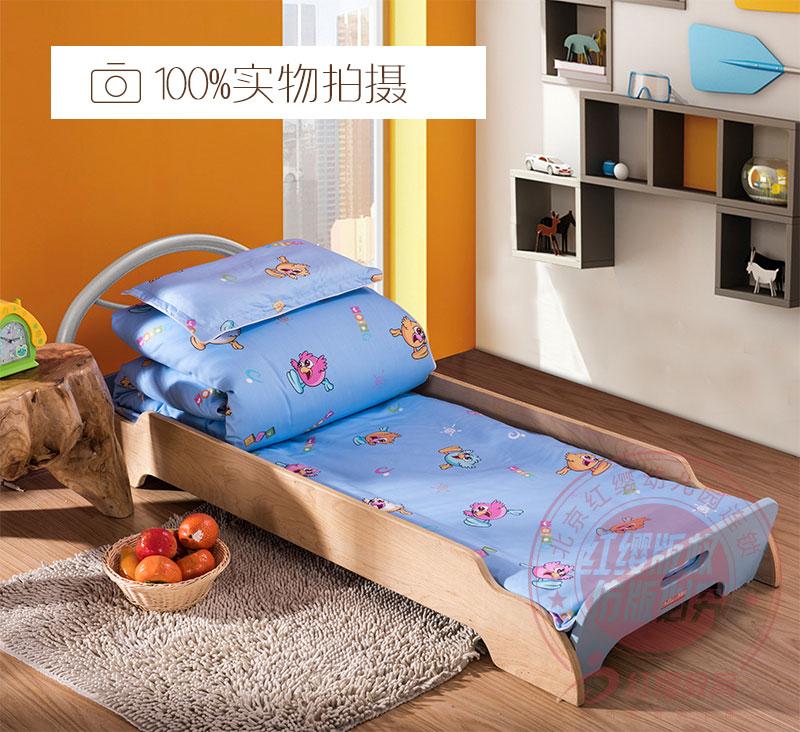 红缨床上用品六件套(浅蓝色)