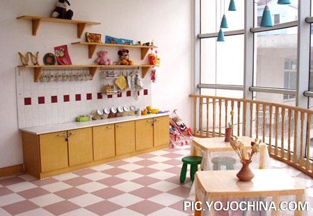 设计图分享 幼儿园教师公告栏设计图片 > 幼儿园教室布置 简洁型