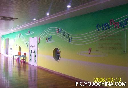 幼儿园走廊吊顶布置图片;
