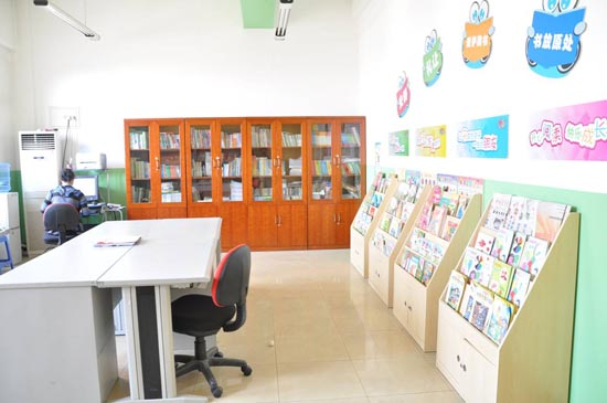幼儿园室内布置-教师资料室之二