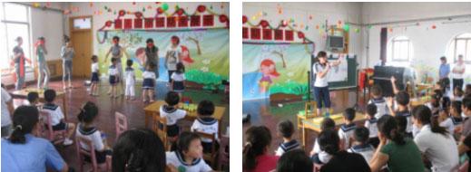 """我幼儿园,注重对幼儿生活态度的培养,大胆进行幼儿园课程改革的实践。强调课程内容的生活性、经验性、启蒙性和科学性。 6月6月日上午,老师们积极利用传统节日""""端午节""""开展教育活动。通过听故事,包粽子、吃粽子、 背古诗等,让幼儿了解端午节的来历、民间过端午节的风俗习惯,了解了中国传统文化的内涵和风俗形式。期间园领导引用屈原《离骚》中的""""路漫漫其修远兮,吾将上下而求索""""这句诗来勉励全体师生。 孩子们在老师的指导下,亲自尝试如何包粽子,一方面培养幼儿的动手能力,另一方"""