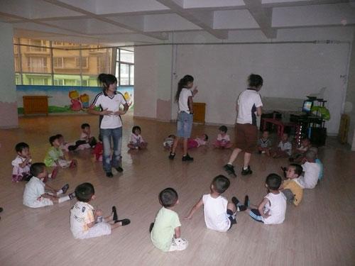 金岩体验班幼儿活动