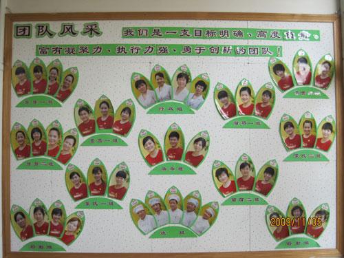 幼儿园大厅环境-教师风采