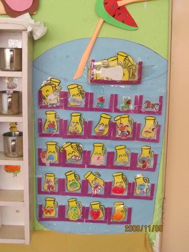 幼儿园中班孩子喝水记录之二