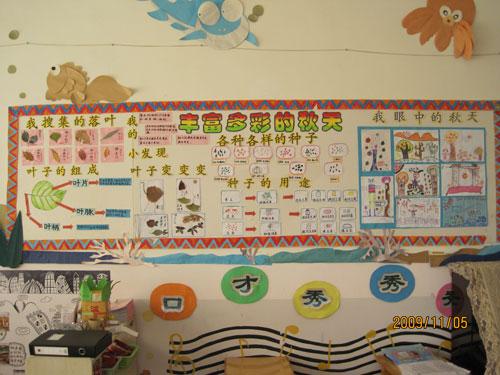 幼儿园教室环境-主题墙
