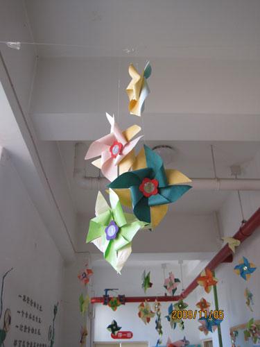 幼儿园小班走廊吊饰