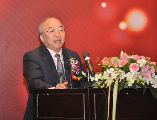 美国新未来基金会董事长陈玉生致辞