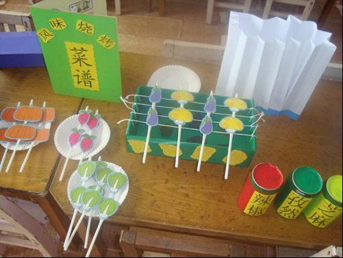 幼儿园教室边框手工布置图片展示