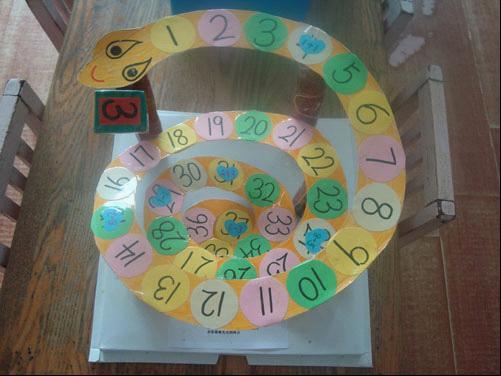 教师手工制作数字转盘