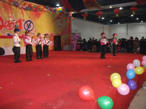 黑龙江大庆利民苑幼儿园举行元旦活动