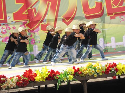 山西柳林县心语幼儿园庆祝六一儿童节活动