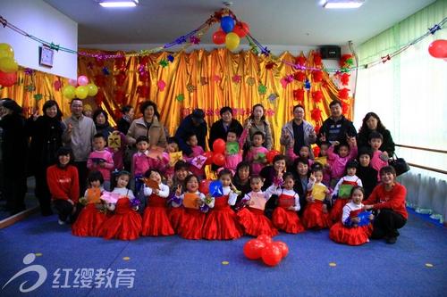 大连海贝尔幼儿园举行2012年新年联欢会