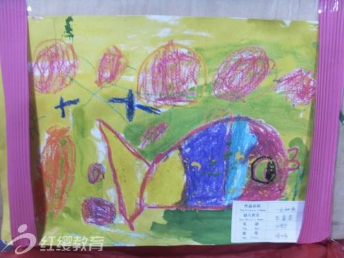大连海贝尔幼儿园组织幼儿美术作品展