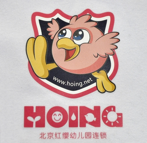 园服裤子logo
