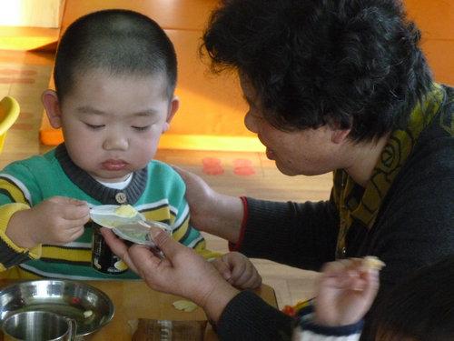 幼儿园幼儿擦嘴步骤图片
