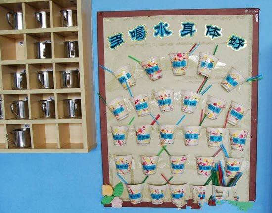 幼儿园喝水的步骤图示