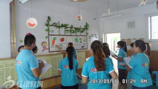 """山东济南红缨智慧树幼儿园举办""""环境创设""""评比活动"""
