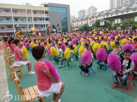 广西来宾红缨启慧幼儿园举办迎国庆主题活动
