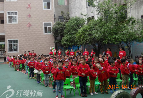(北京红缨加盟园湖北安陆新世纪幼儿园供稿)