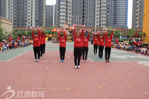 北京红缨直营德州红缨幼儿园开展教师趣味运动会
