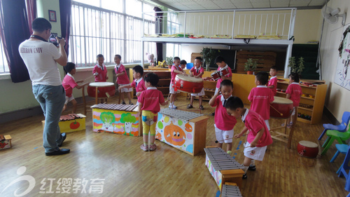 山东寿光红缨爱心双语幼儿园举办六一活动
