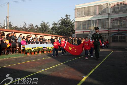 山东济宁红缨运河监狱幼儿园举行亲子趣味运动会