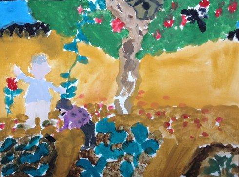 幼儿园菜地大班主题:人教奶奶的教案教案版四年级猫爷爷图片