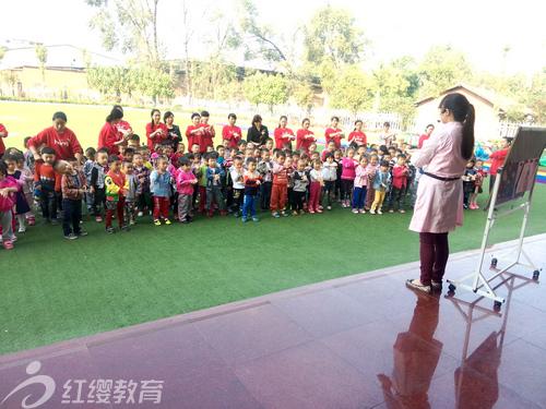 陕西安康红缨高新第二幼儿园举办全球洗手日活动