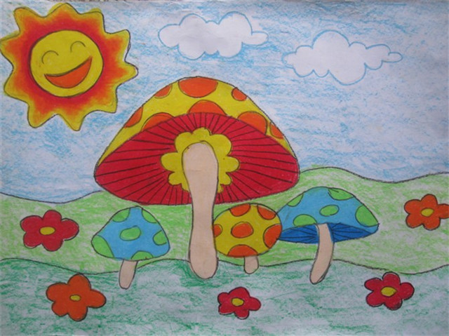 【美术】儿童画教学资料—蔬菜