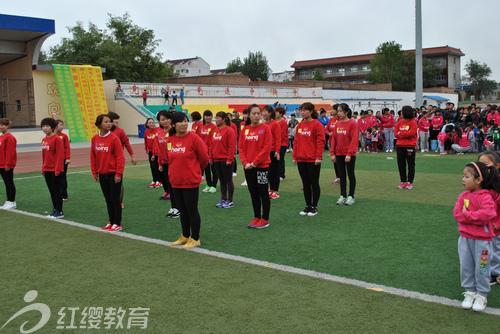 河北保定红缨三毛幼儿园举办秋季运动会