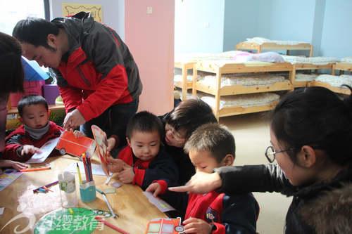 安徽合肥红缨滨湖时代幼儿园开展家长半日开放活动