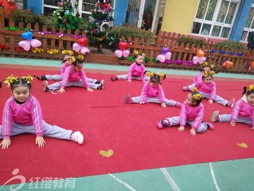山东济宁红缨凯亿花园幼儿园举办圣诞元旦活动