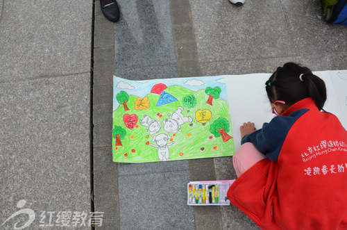 四川南充红缨凌凯春天幼儿园举办地球日主题活动