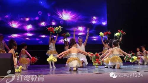 《我爱我老师的目光》-陕西延红缨柳树坪幼儿园举办六一文艺汇演图片