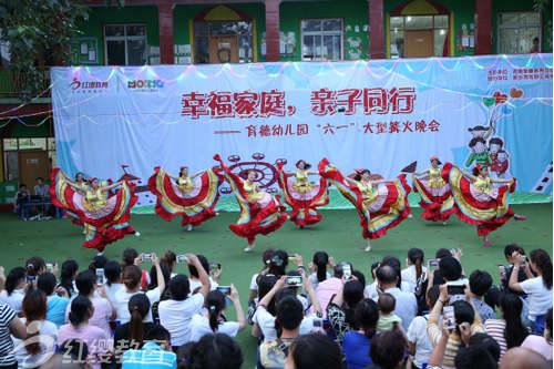 河南新乡红缨育德幼儿园举办六一文艺汇演