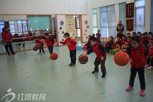 安徽合肥红缨滨湖时代幼儿园举办阳光体育比赛