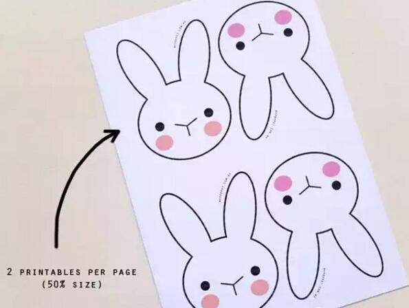 孩子们会喜欢可爱的小兔子
