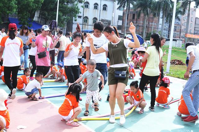广东省湛江市坡头区官渡镇三角中英文幼儿园活动报道