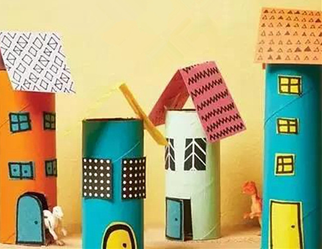 【手工】卫生纸筒的创意图片