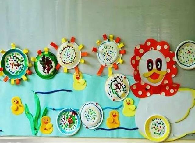 幼儿园主题墙—海底世界