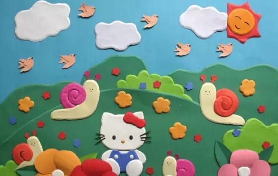 【主题墙】幼儿园立体环创
