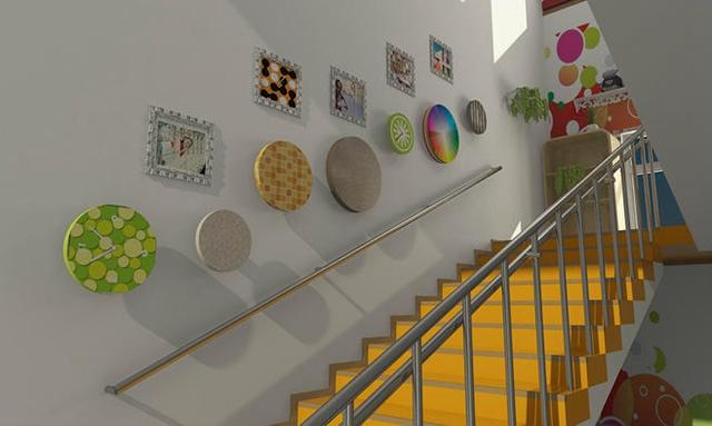 首页 环创 幼儿园楼梯环境布置大全(二)