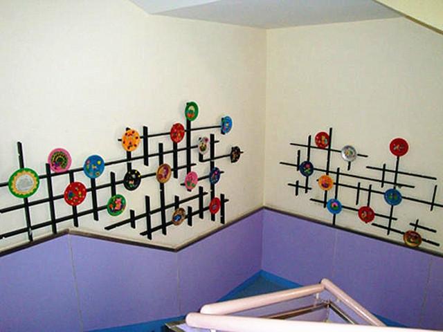 首页 环创 幼儿园楼梯环境布置大全(三)