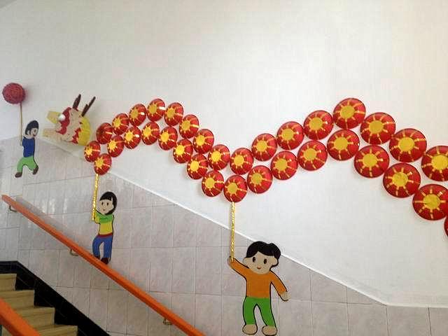 幼儿园楼梯环境布置大全(三)