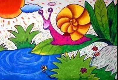 首页 教育教学 基础油画棒的绘画技法看这里  平涂法是油画棒最根本的