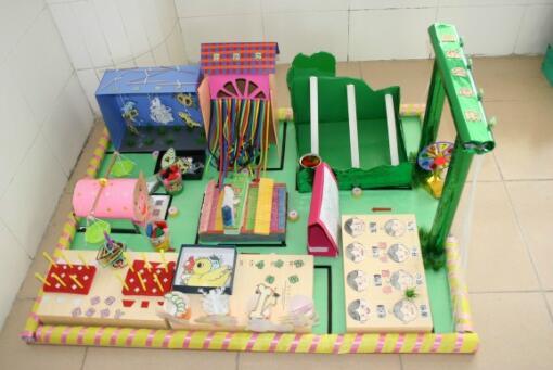 幼儿园老师做的手工制作展示