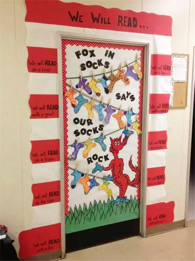 【门】幼儿园教室门环创布置