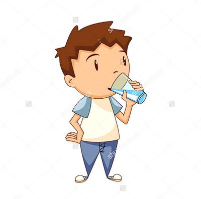 幼儿喝水卡通图片图片展示_幼儿