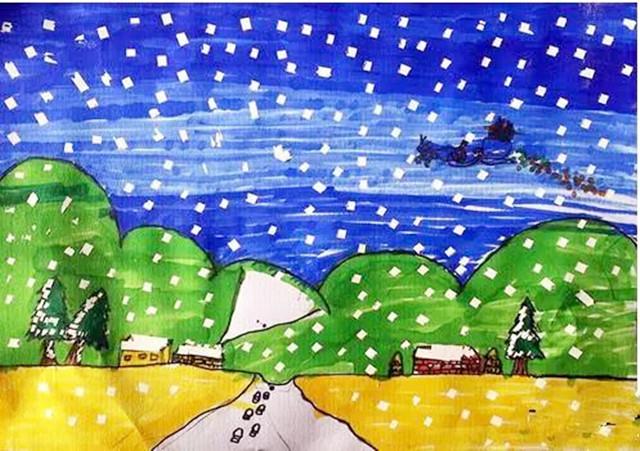 美丽的冬天图片 家乡的冬季图片