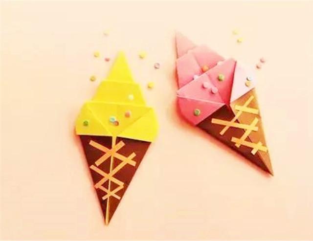 【折纸】可爱的冰淇淋